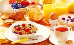 завтрак пп