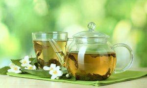 чай зеленый жасмином фото