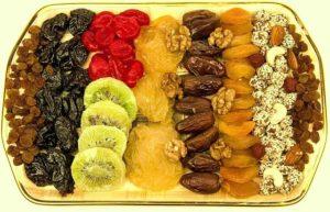 сухофрукты замена сахара