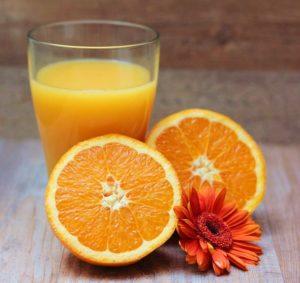 сок апельсина свежий